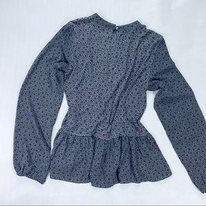 LOFT Tops - LOFT long-sleeves flower pattern